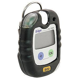 Draeger Single Gas Detector, Sulfur Dioxide