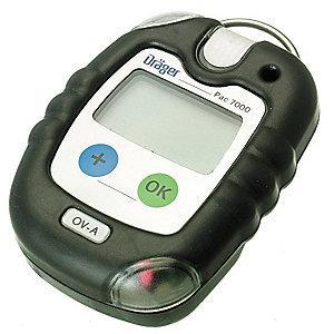 Draeger Single Gas Detector, Organic Vapors