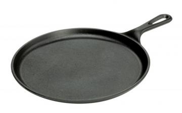 Lodge Logic Round Cast Iron Griddle 10.5 Inch