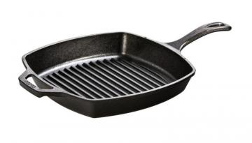 Lodge Logic Cast Iron Square Grill Pan 10.5 Inch