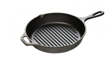 Lodge Logic Cast Iron Round Grill Pan 10.25 Inch