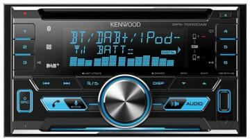 Kenwood Double DIN Car Stereo with DAB, USB & Bluetooth