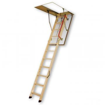Fakro Attic Ladder (Wooden Fire Rated) LWF 22 1/2x54 300lbs 10' 1""