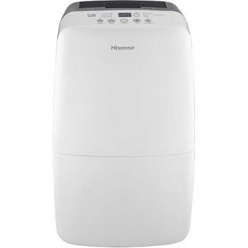 Hisense 50-Pint 2-Speed Dehumidifier with Built-in 1200-Watt Heater