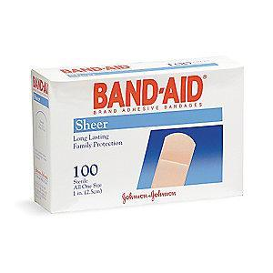 "Honeywell Strip Bandages, Plastic, Beige, 3"" x 3/4"""