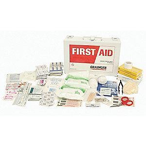 Honeywell First Aid Kit,  Polypropylene Case Material, General Purpose, 50 People Served