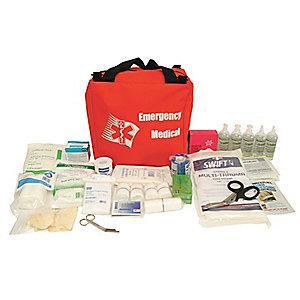 Honeywell First Aid Kit,  Nylon Case Material, First Response, 50 People Served