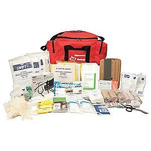 Honeywell First Aid Kit,  Nylon Case Material, First Response, 20 People Served