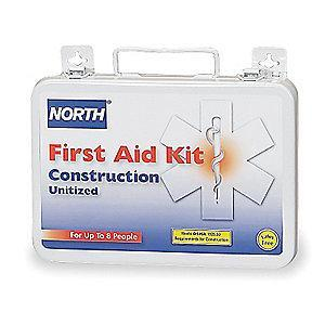 Honeywell First Aid Kit,  Steel Case Material, Workplace, 8 People Served