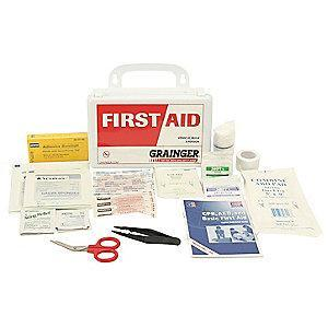 Honeywell First Aid Kit,  Polypropylene Case Material, General Purpose, 3 People Served