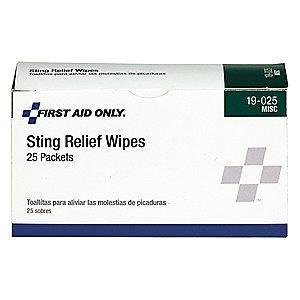 PhysiciansCare Anti-Sting Wipe, 1.1g Foil Pack