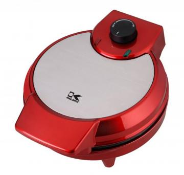 Kalorik Red Metallic Heart Shape Waffle Maker