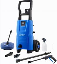 Nilfisk 1400W 110 Bar Cold Pressure Washer with Patio Cleaner - 230V