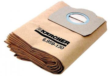 Karcher Filter Bags for 17L Wet & Dry Vacuum Cleaner 5 Pack