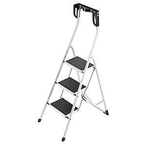 Hailo Household Step Stool,Steel,11-7/8 In. W