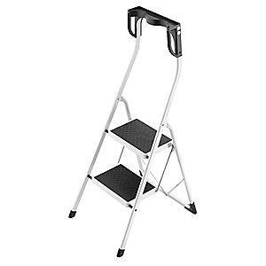Hailo Household Step Stool,11-7/8 In. W,Steel