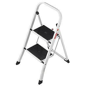 Hailo Household Step Stool,2-3/4 ft.,330 lb.