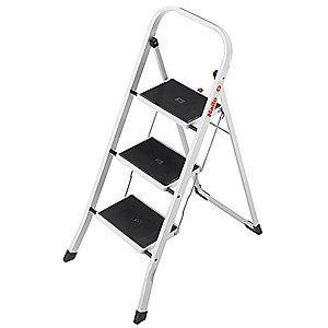 Hailo Household Step Stool,3-1/2 ft.,330 lb.
