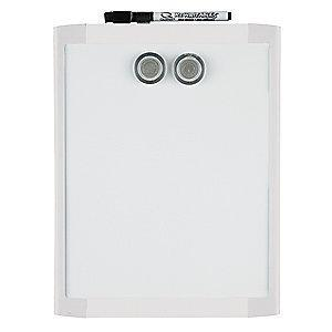 "Quartet Gloss-Finish Steel Dry Erase Board, Wall Mounted, 11""H x 8-1/2""W, White"
