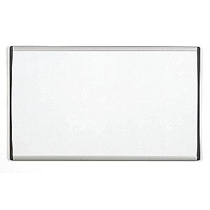 "Quartet Gloss-Finish Steel Dry Erase Board, Wall Mounted, 18""H x 30""W, White"