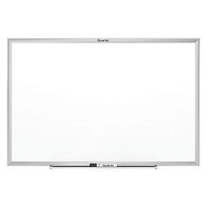 "Quartet Gloss-Finish Steel Dry Erase Board, Wall Mounted, 36""H x 48""W, White"