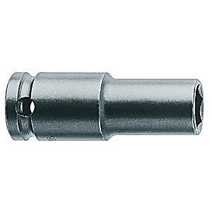 Apex Impact Socket,3/8 In Dr,3/8 In,6 pt