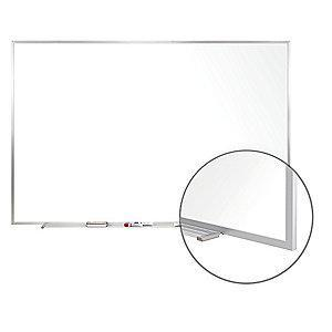 "Ghent Gloss-Finish Steel Dry Erase Board, Wall Mounted, 48-1/2""H x 72-1/2""W, White"