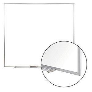 "Ghent Gloss-Finish Steel Dry Erase Board, Wall Mounted, 48-1/2""H x 48-1/2""W, White"