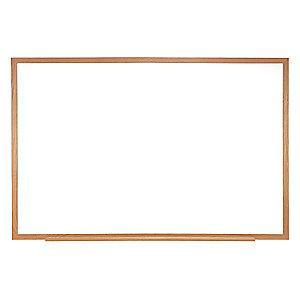 "Ghent Gloss-Finish Steel Dry Erase Board, Wall Mounted, 48-5/8""H x 60-5/8""W, White"