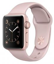 Apple Watch Series 2 42mm Rose Gold Case with Pink Sport Strap