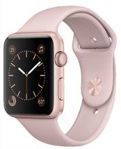 Apple Watch Sport 38mm Rose Gold Aluminium Case with Pink Sport Band