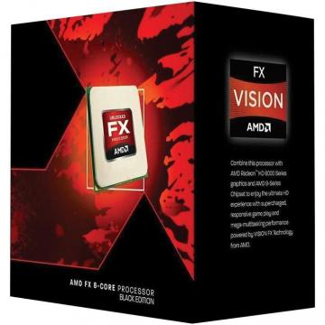AMD FX-9370 8-Core Black Edition Socket AM3+ 4.7GHz Processor, Retail