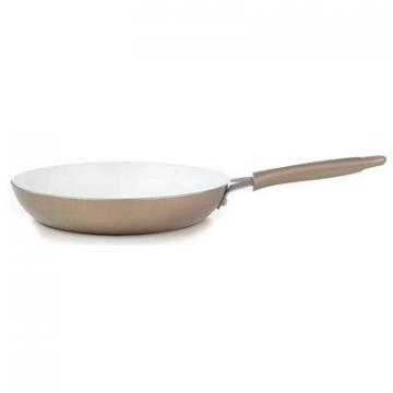 T-Fal Wearever Pure Living Saute Pan, Non-Stick Ceramic, Champagne, 10-In.