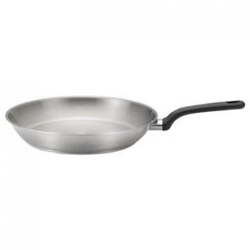 T-Fal Excite Fry Pan, Stainless Steel, 12-In.