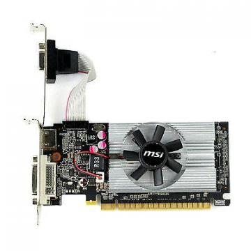MSI Geforce 210GT 1G DDR3 Fan DVI VGA Adapter HDMI HDCP Lowprofile