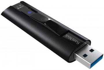 SanDisk Extreme Pro USB 3.0 SSD Flash Drive, 128GB 420MB/s Read 380MB/s Write