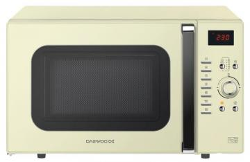 Daewoo 900W Microwave in Cream with 1250W Grill, 1250W Oven & 28L Capacity