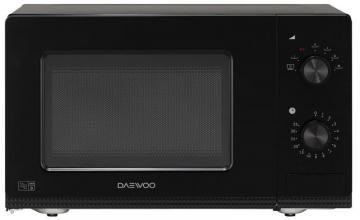 Daewoo 800W Manual Microwave with 20L Capacity in Black