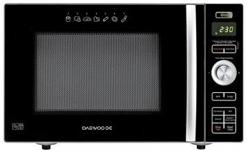 Daewoo 900W Stainless Steel Combination Microwave Oven and Air Fryer with 24L Capacity