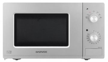 Daewoo 800W Manual Microwave with 20L Capacity in Silver
