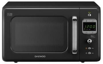 Daewoo 800W Microwave in Black with 20L Capacity