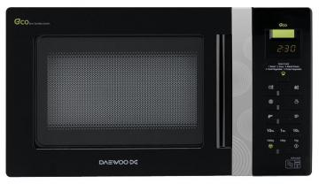 Daewoo 800W Microwave with 20L Capacity  in Black