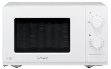 Daewoo 800W Manual Microwave with 20L Capacity in White