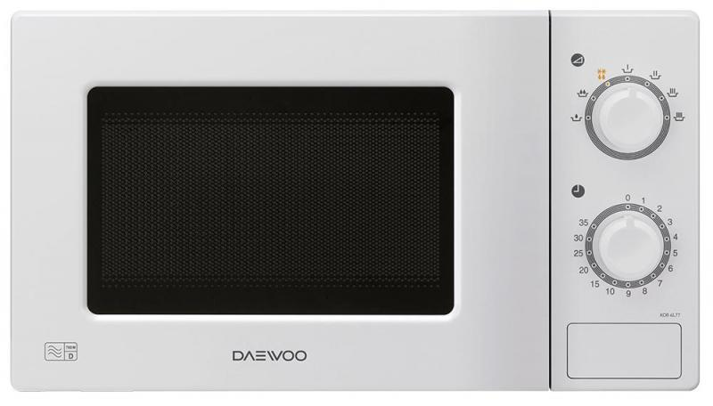 Daewoo 700W Manual Microwave Oven with 20L Capacity