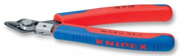 Knipex Electronic Super Knips Burnished with Multi-Component Grips - Lead Catcher 125mm