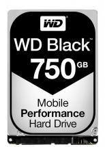 "WD Black Mobile 2.5"" Internal HDD SATA 6GB/s - 750GB, 7200RPM"