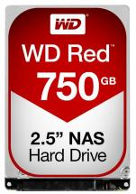 "WD Red NAS 2.5"" Internal HDD SATA 6GB/s - 750GB"