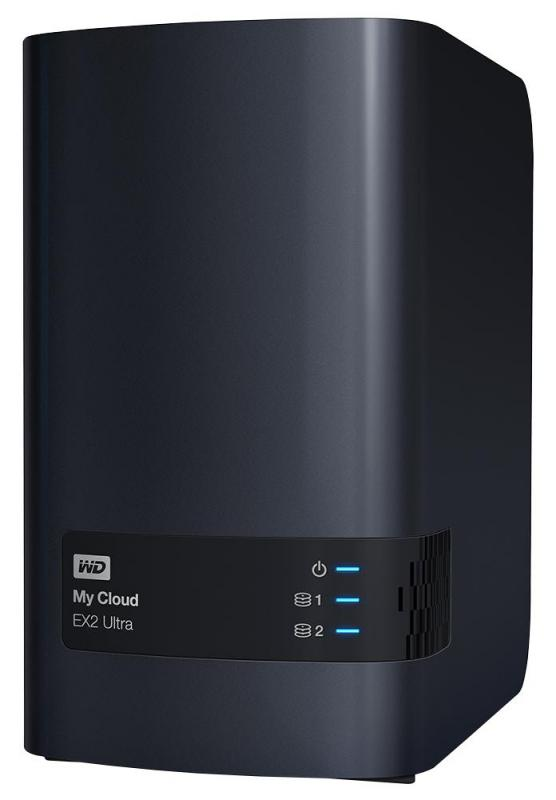 WD My Cloud EX2 Ultra Desktop NAS Drive - 4TB