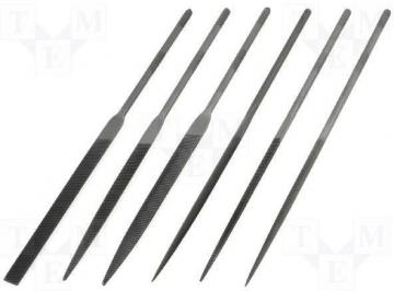 C.K Tools Needle File Set 140mm 6 Piece