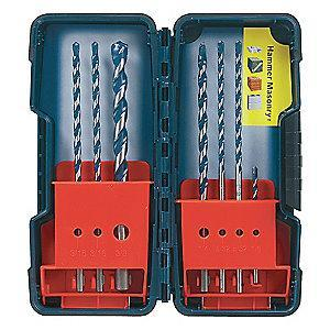 Bosch Hammer Drill Bit Set,PowerGrip,7PC